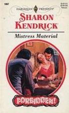Mistress Material by Sharon Kendrick