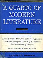 A Quarto of Modern Literature by Leonard…