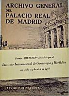 Archivo General del Palacio Real de Madrid:…