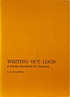 Writing out loud: A hintful handbook for…