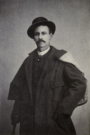 Author photo. Image from <b><i>A Cowboy Detective: A True Story of Twenty-two Years with a World-Famous Detective Agency</i></b> (1912) by Charles A. Siringo