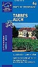 Tarbes - Auch. Carte n° 63 -…