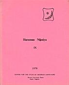 Harsunan Nijeriya 9 (1979)