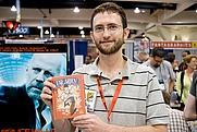 Author photo. Kevin Cannon at San Diego Comic Con 2009. Photo credit: <a href=&quot;http://parkablogs.com&quot; rel=&quot;nofollow&quot; target=&quot;_top&quot;>Parka Blogs</a>.