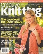 Creative Knitting Magazine, March 2008 by…