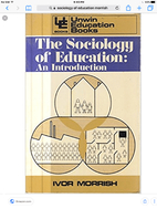 The Sociology of Education: An Introduction…