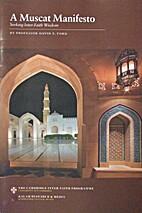 A Muscat Manifesto: Seeking Inter-Faith…