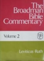 The Broadman Bible Commentary, Volume 2 by…