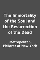 The Immortality of the Soul and the…