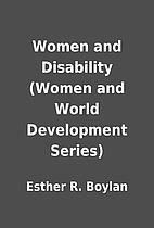 Women and Disability (Women and World…