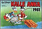 Kalle Anka 1981 [julbok] by Walt Disney