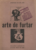 Arte de furtar by Anonimo do Séc XVII