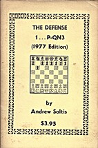 The Defense 1 ... P-QN3 (1977 Edition) by…