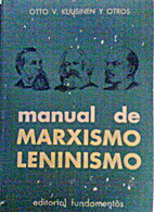 Fundamentals of Marxism-Leninism, manual by…