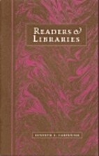 Readers & libraries : toward a history of…