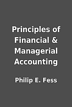 Principles of Financial & Managerial…