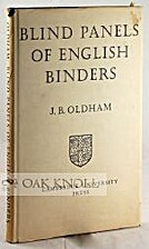 Blind Panels of English Binders by J. Basil…