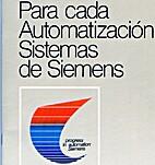 SIEMENS Para cada Automatización Sistemas…