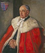 Author photo. Sir Sydney Castle Roberts [credit: Peter Greenham, oil on canvas, 1951, Pembroke College, Cambridge]