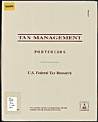 Tax Management Portfolio 100-2nd by Peter A.…