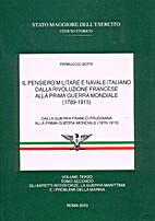 Il pensiero militare e navale italiano dalla…