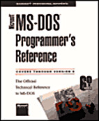 Microsoft MS-DOS Programmer's Reference by…
