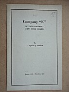 Company K, Seventh Regiment, New York…