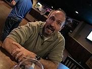 Author photo. public candid of author Shawn D. Mahaney