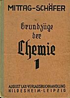 Grundzüge der Chemie, Bd. 1: für die 5.…
