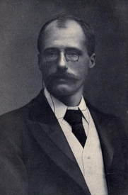 Author photo. Image from <b><i>Famous war correspondents</i></b> (1914) by F. Lauriston Bullard