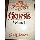Genesis, Volume 1 by G.Ch. Aalders