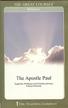 The Apostle Paul (The Great Courses, 1) by…