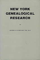 New York Genealogical Research by George K.…