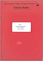 External Studies- Aboriginal Communities and…
