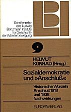 Sozialdemokratie und Anschluss : historische…