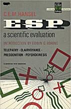 ESP; a scientific evaluation by C. E. M.…