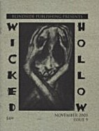 WICKED HOLLOW Issue 9 by Jon Hodges (editor)