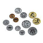 Overhead Coins Set of 50 by EAI Education