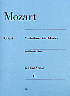 Variations for Piano by Wolfgang Amadeus…
