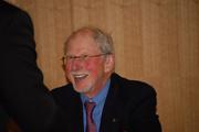 Author photo. Michael Korda. Photo courtesy Darien Library.