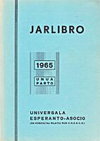Jarlibro 1965 (unua parto)