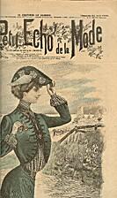 Le Petit Echo de la Mode, Issue __, August…