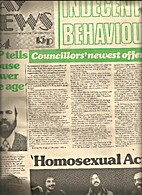 Gay News (Issue #64) Former Prime Minister…