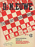 Theorie der schaakopeningen. No. 5:…