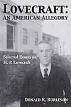 Lovecraft: An American Allegory by Donald R.…