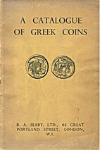A Catalogue of Greek Coins by Gilbert Askew