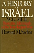 A History of Israel: Volume II: From the…