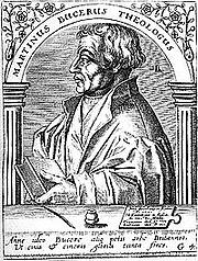 Author photo. Martin Bucer, original in Icones quinquaginta vivorum held in British Library, London.