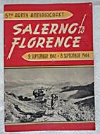 Fifth Army Antiaircraft Artillery: Salerno…