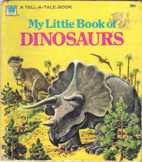 My Little Book of Dinosaurs by Eileen Daly